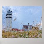 photo print of the Cape Cod Light House