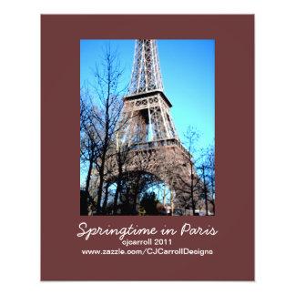 Photo-Print Paris Theme: Springtime in Paris Photo Print