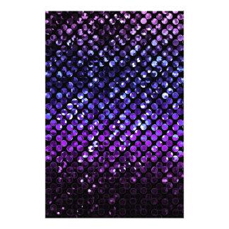 Photo Print Purple Crystal Bling Strass