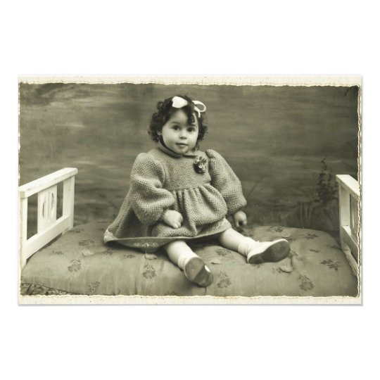 Photo print Vintage Retro Rhotograph