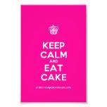 [Cupcake] keep calm and eat cake  Photo Prints