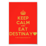 [Crown] keep calm and eat destinay♥  Photo Prints