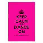 [Crown] keep calm and dance on  Photo Prints