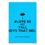 [Two hearts] i #love b5 hot tall boys that melt  Photo Prints