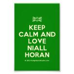 [UK Flag] keep calm and love niall horan  Photo Prints