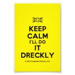 [UK Flag] keep calm i'll do it dreckly  Photo Prints