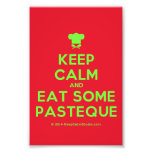 [Chef hat] keep calm and eat some pasteque  Photo Prints