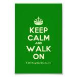 [Crown] keep calm and walk on  Photo Prints
