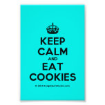[Crown] keep calm and eat cookies  Photo Prints