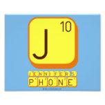 J JENNIFER'S PHONE  Photo Prints