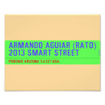 armando aguiar (Rato)  2013 smart street  Photo Prints