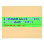 armando aguiar (Rato)  2013 smart street  Photo Prints