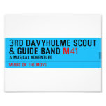 3rd Davyhulme Scout & Guide Band  Photo Prints