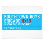 boothtown boys  brigade  Photo Prints