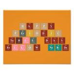 Happy  Periodic  Table Day Fellow Nerds  Photo Prints