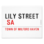 Lily STREET   Photo Prints