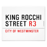 king Rocchi Street  Photo Prints