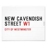 New Cavendish  Street  Photo Prints