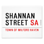 Shannan Street  Photo Prints