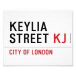 Keylia Street  Photo Prints