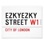 ezkyezky Street  Photo Prints