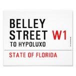 Belley Street  Photo Prints