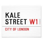 Kale Street  Photo Prints