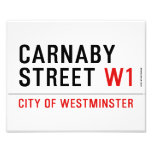 carnaby street  Photo Prints