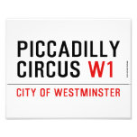 piccadilly circus  Photo Prints