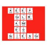 KEEP CALM AND DO SCIENCE  Photo Prints
