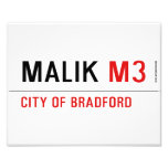 Malik  Photo Prints