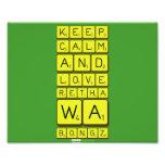 keep calm and love Retha wa Bongz  Photo Prints