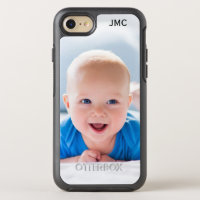 Photo Protective Phone With Monogram OtterBox Symmetry iPhone 7 Case