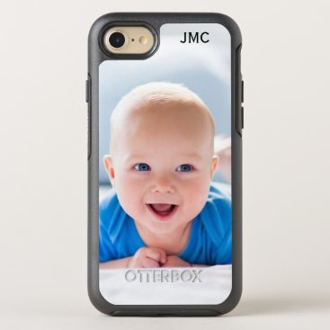Photo Protective Phone With Monogram OtterBox Symmetry iPhone 7 Case