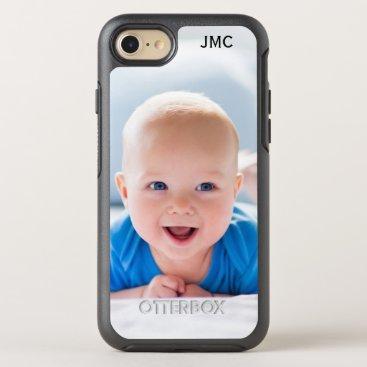 Photo Protective Phone With Monogram OtterBox Symmetry iPhone 8/7 Case