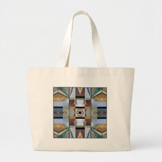 PHOTO QUILT LARGE TOTE BAG