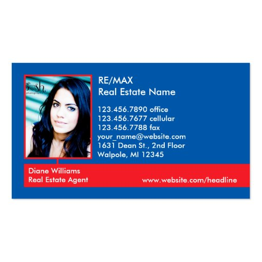 Photo Real Estate Business Card