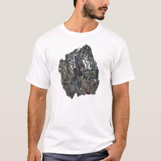 Photo Realistic Chrome on White T-Shirt