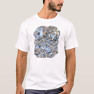 Photo Realistic Foil on White T-Shirt