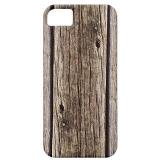 Photo Realistic Rustic, Weathered Wood Board iPhone SE/5/5s Case