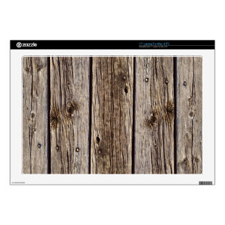 Photo Realistic Rustic, Weathered Wood Board Skin For Laptop