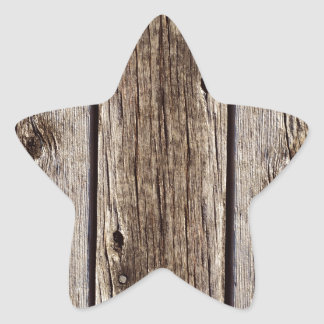 Photo Realistic Rustic, Weathered Wood Board Stickers