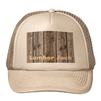 Photo Realistic Rustic, Weathered Wood Board Trucker Hat