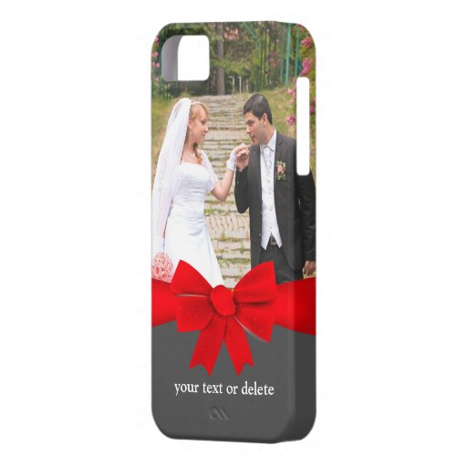 Photo Red Ribbon iPhone 5/5S Case