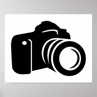 Photo reflex camera print