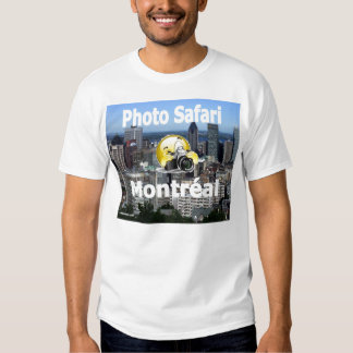 Photo Safari Montreal T-Shirt