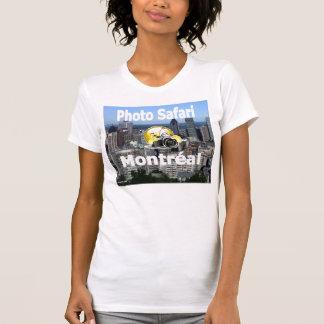 Photo Safari Montreal womens T shirt