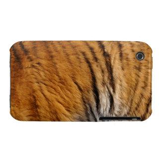 Photo-sampled Tiger Fur Big Cat Wildlife iPhone 3 Case-Mate Case