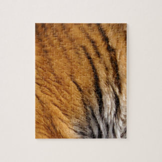 Photo-sampled Tiger Stripes Big Cat Wildlife Jigsaw Puzzle