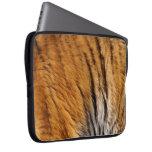 Photo-sampled Tiger Stripes Big Cat Wildlife Laptop Computer Sleeves